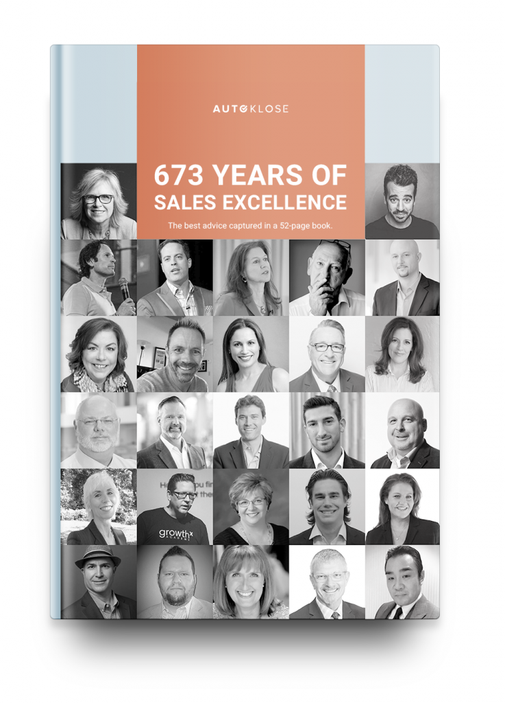 Free EBook: 673 Years Of Sales Excellence