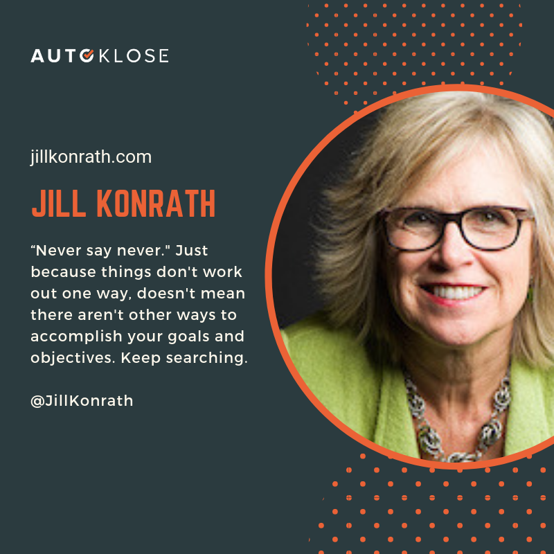 Great Salespeople: Jill Konrath