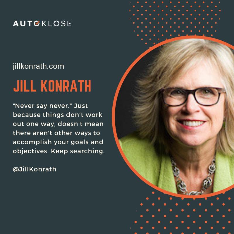 Great Salespeople: Jill Konrath