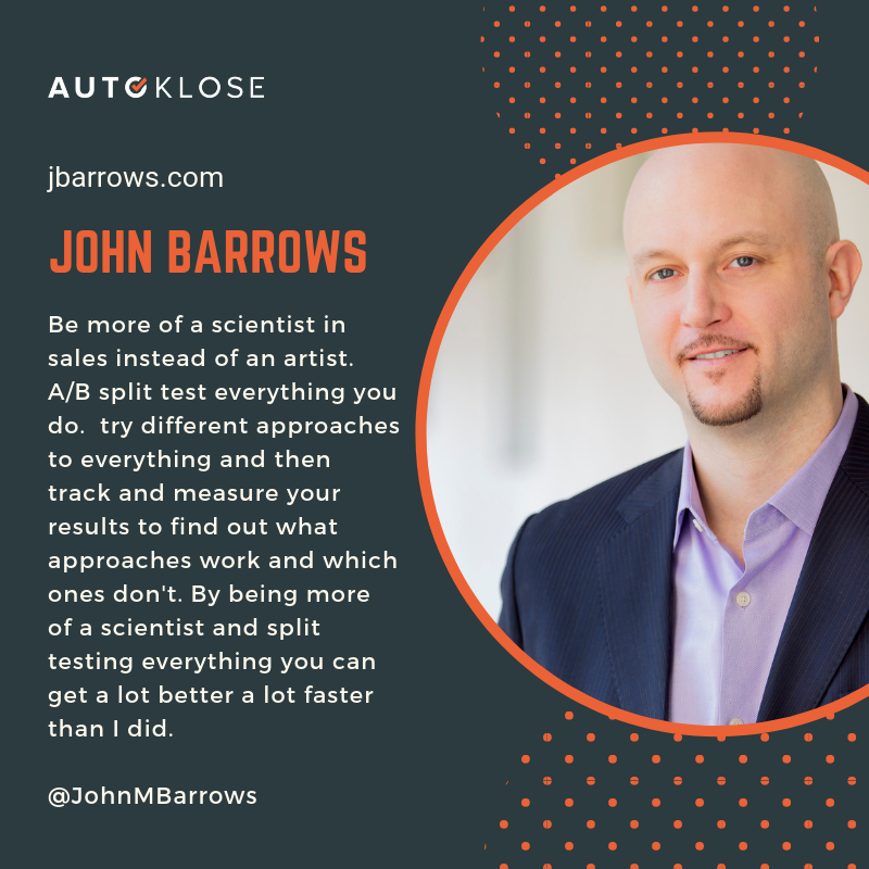 Great Salespeople: John Barrows