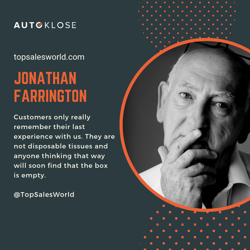 Great Salespeople: Jonathan Farrington