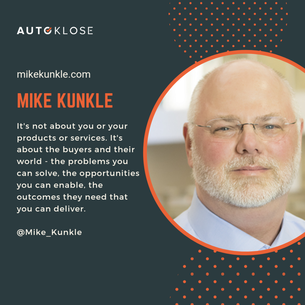 Great Salespeople: Mike Kunkle