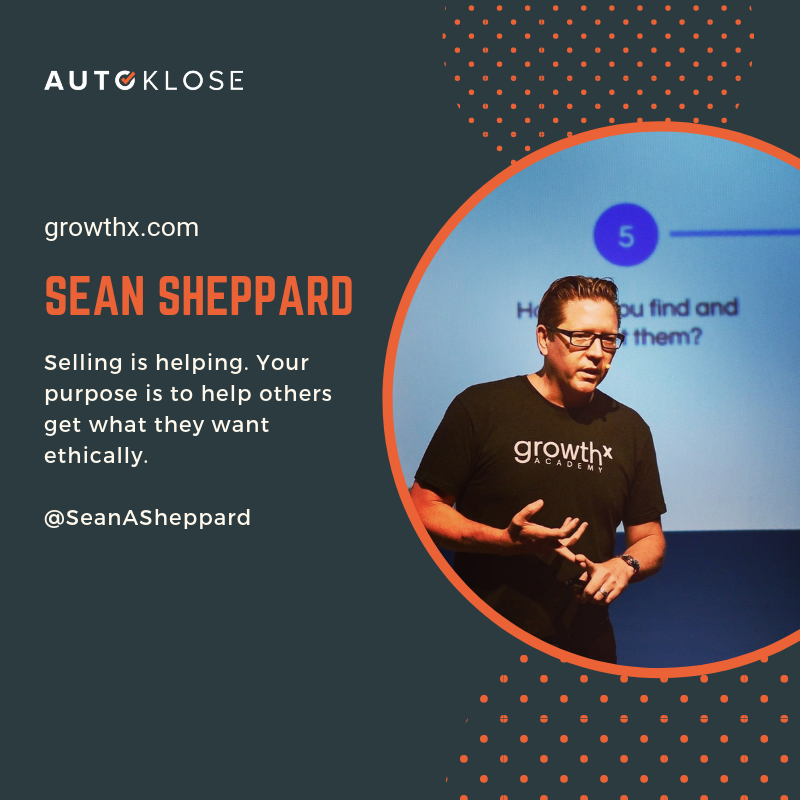 Great Salespeople: Sean Sheppard