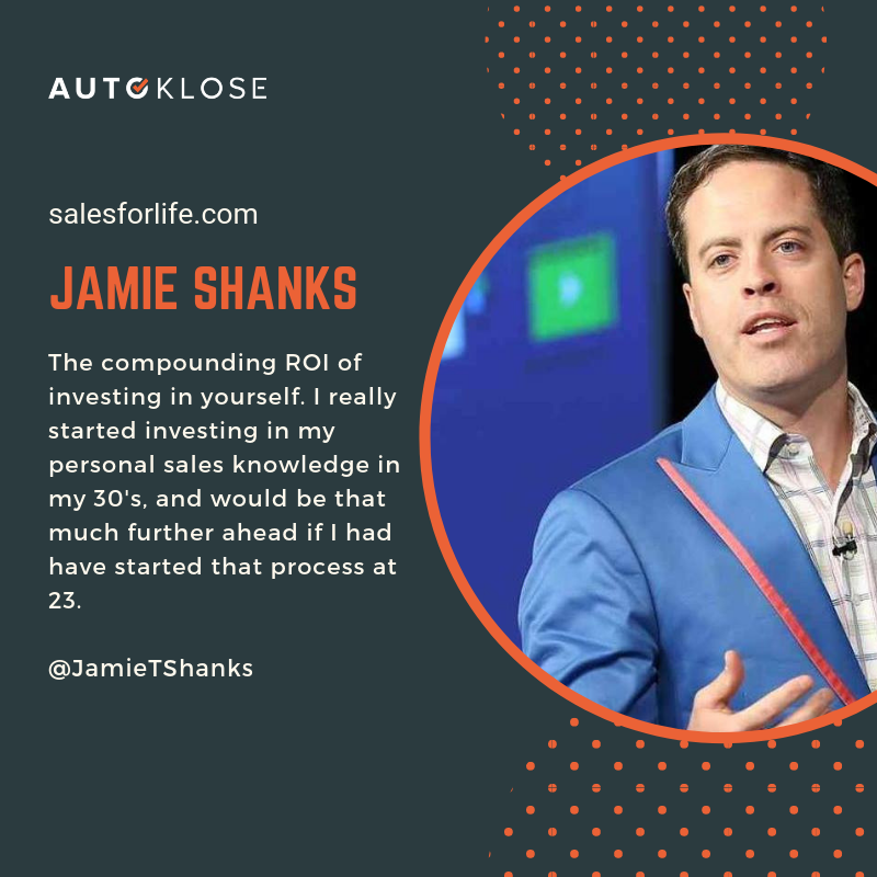 Great Salespeople: Jamie Shanks