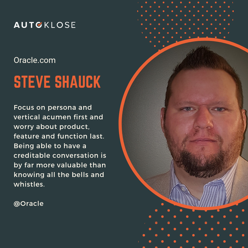 Great Salespeople: Steve Shauck