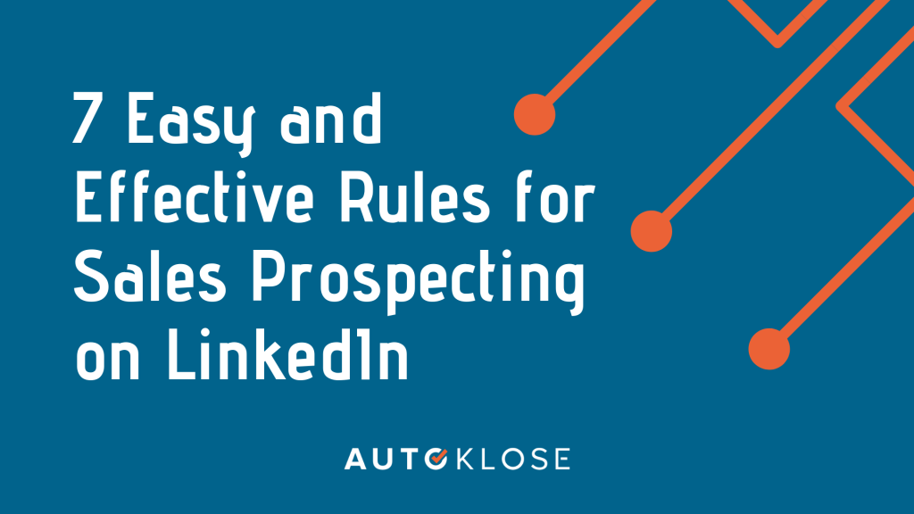 Sales Prospecting LinkedIn