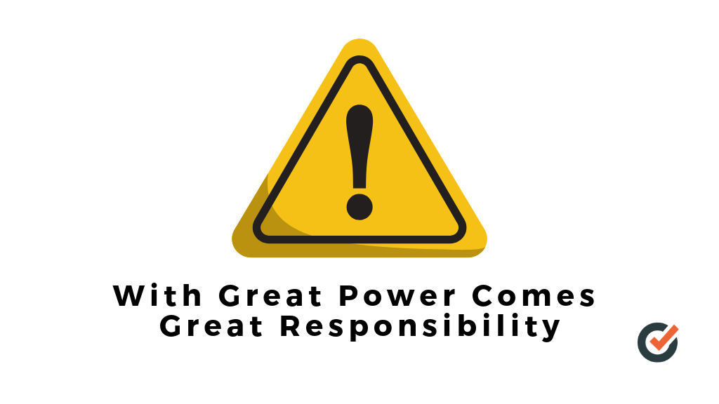With Great Power Comes Great Responsibility - Email Marketing Sales Autoklose.