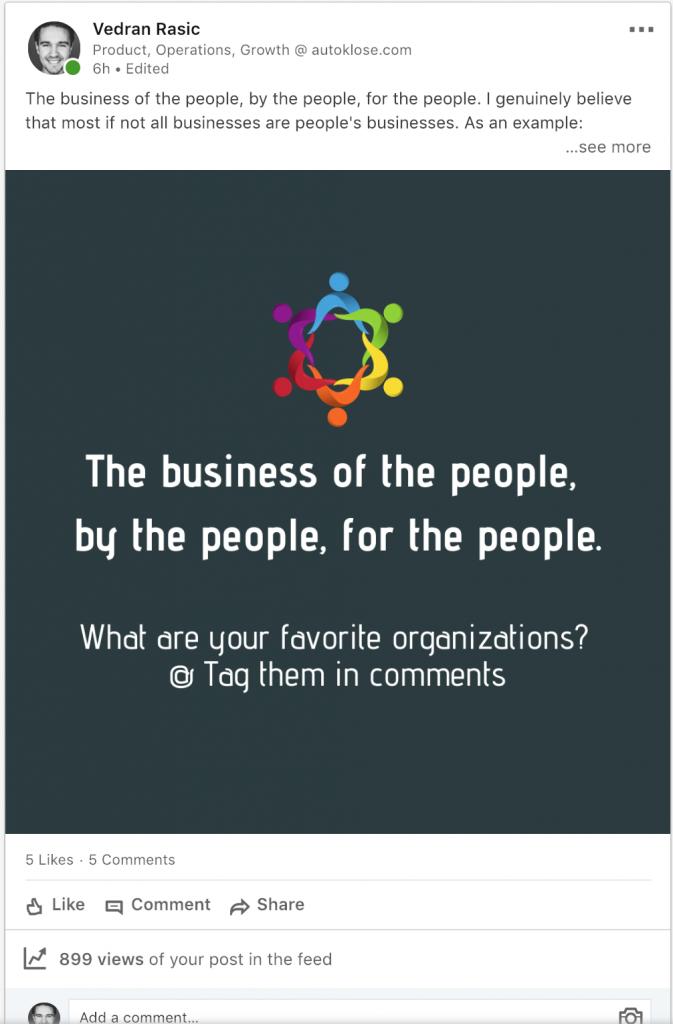Autoklose Lead Generation, LinkedIn Tips