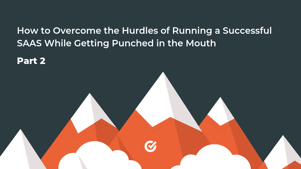 How to Overcome the Hurdles of Running a SaaS and Succeed While You Get Punched in the Mouth 2