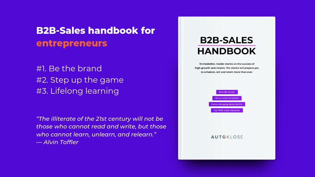 B2B Sales Book