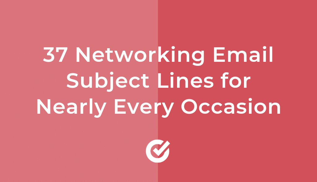 Networking Email Subject Lines For Nearly Every Occasion by Autoklose
