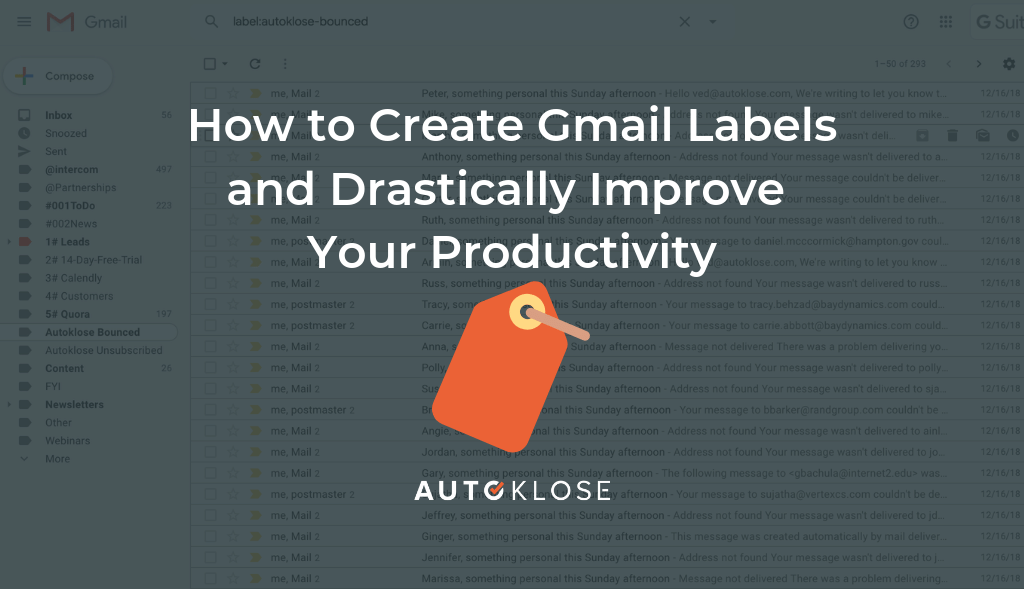 How to Create Gmail Labels and Drastically Improve Productivity - autoklose.com