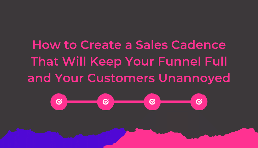 How to Create a Sales Cadence That Will Keep Your Funnel Full and Your Customers Unannoyed. Sales Engagement platform to help you do just that. Autoklose.com.