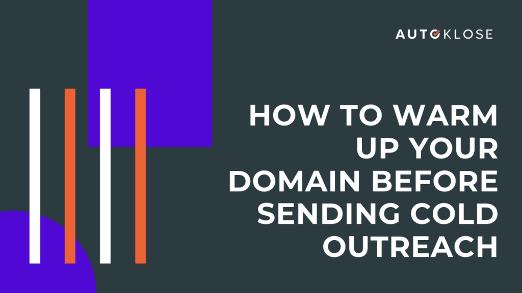 Warm Up Email Domain