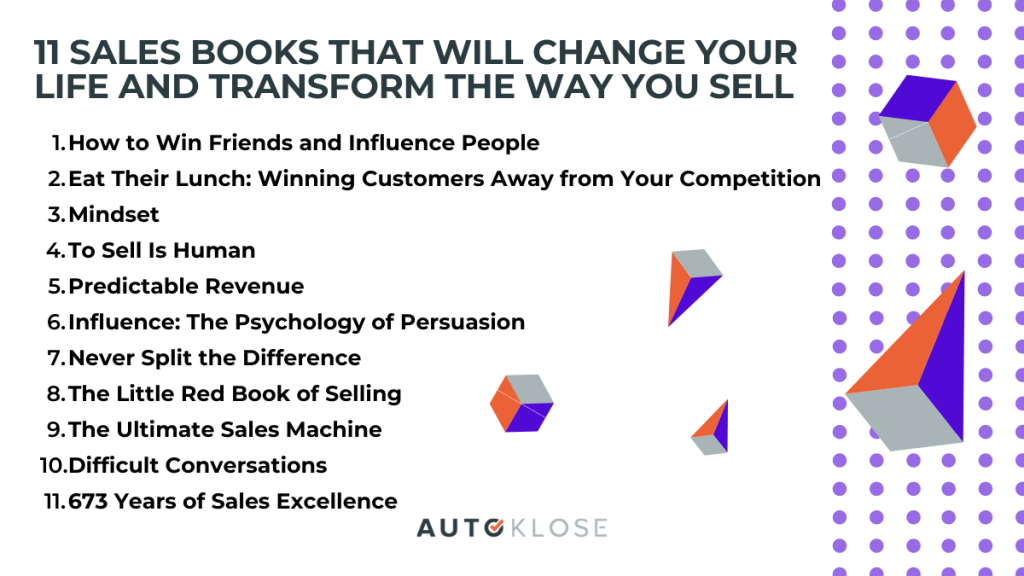 sales books that will change your life