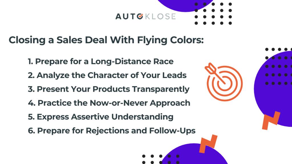closing sales deals