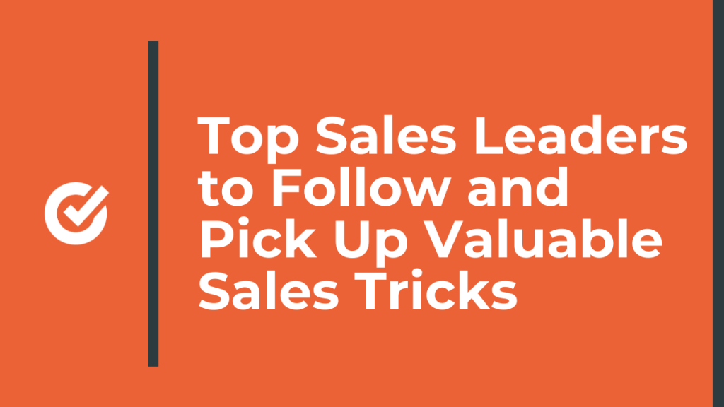 top sales leaders to follow
