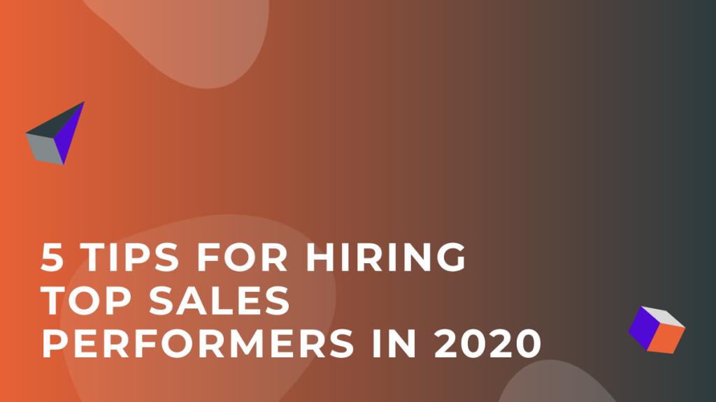 Hiring Top Sales Performers