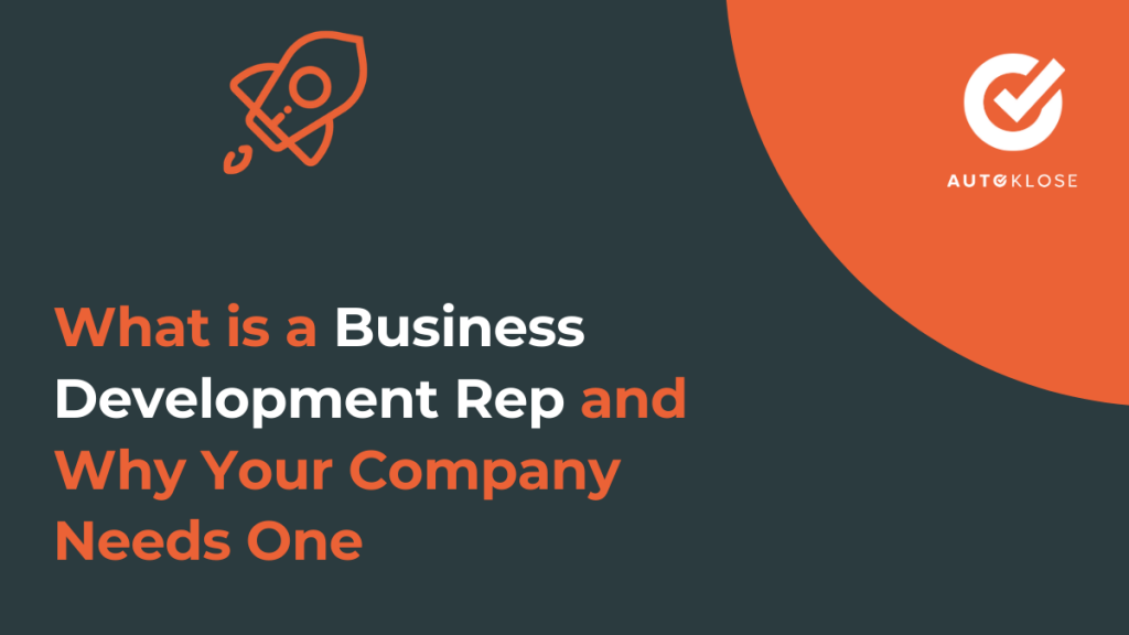 What is a Business Development Rep