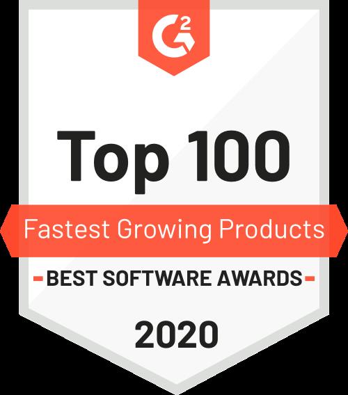 Top 100 fastest growing produts