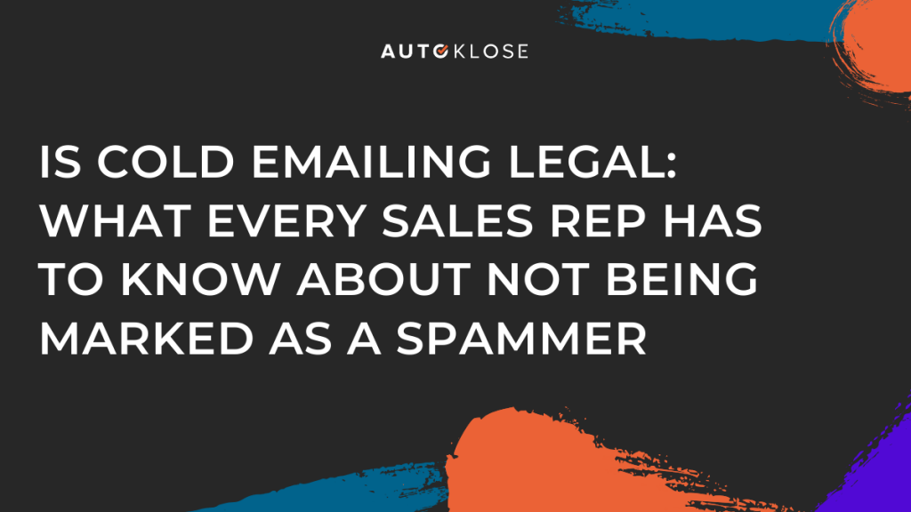 Is Cold Emailing Legal