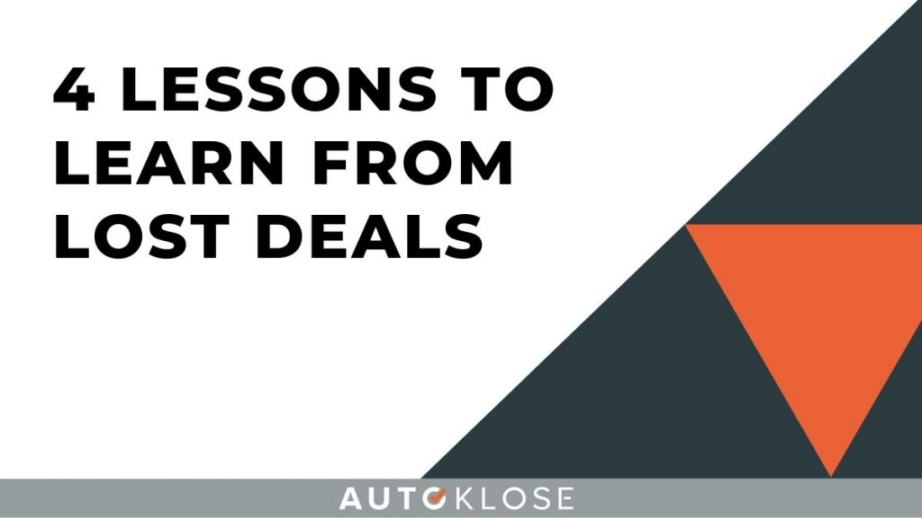 Learn From Lost Deals
