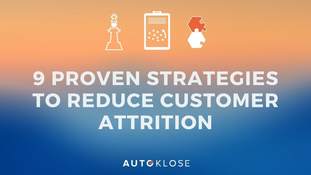 Customer attrition