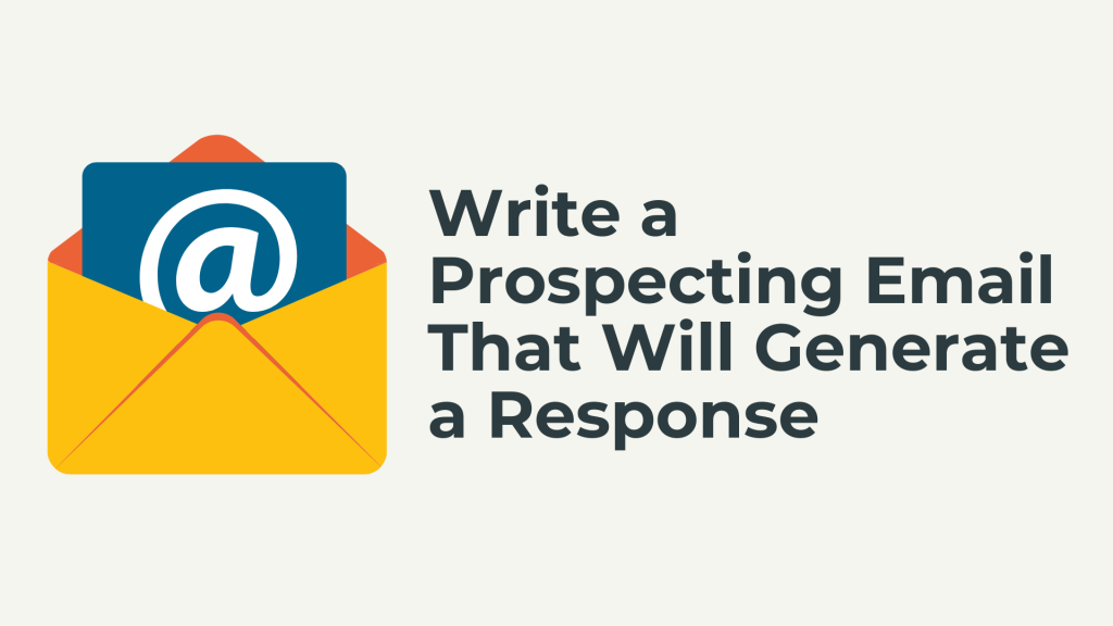 prospecting email