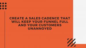 sales cadence