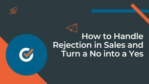 how to handle rejection in sales